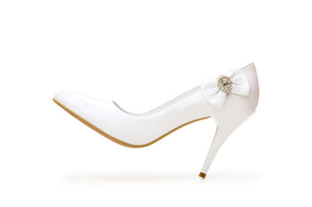Woman shoes isolated on the white background Stock Photo - 4211928