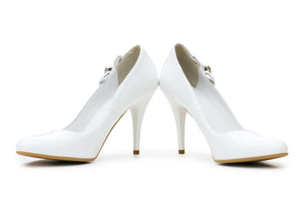 Woman shoes isolated on the white background Stock Photo - 4276956