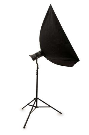 Studio strobe isolated on the white background Stock Photo - 4519547