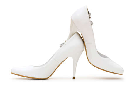 Woman shoes isolated on the white background Stock Photo - 4654993