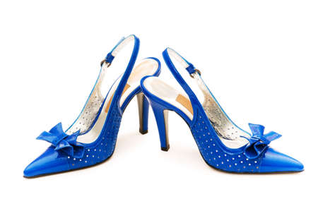 Woman shoes isolated on the white background Stock Photo - 4749042