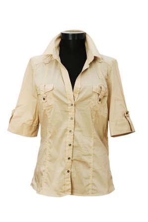 Shirt isolated on the white background Stock Photo - 5031507