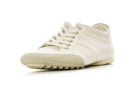 Short shoe isolated on the white background photo