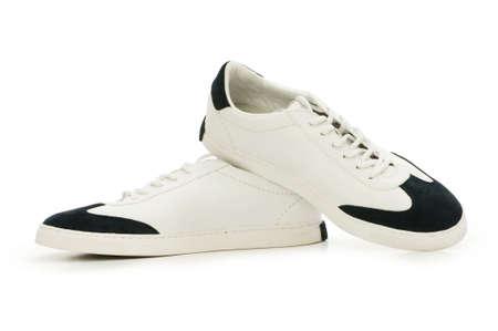 Short shoes isolated on the white background photo
