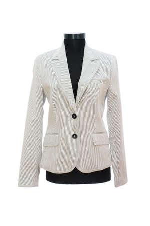 Stylish jacket isolated on the white background Stock Photo - 5282525