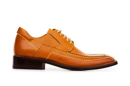 Orange shoes isolated on the white background Stock Photo - 5396683