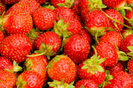 Lots of strawberries arranged as the background Stock Photo - 5561836