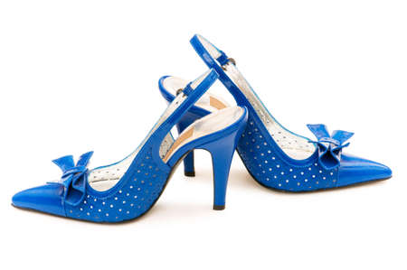 Woman shoes isolated on the white background Stock Photo - 5594037