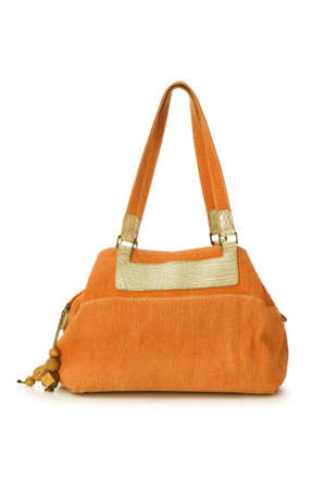 Woman bag isolated on the white background photo