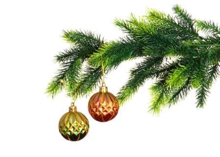 Christmas decoration isolated on the white background Stock Photo - 5778577