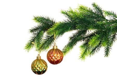 Christmas decoration isolated on the white background Stock Photo - 5778577