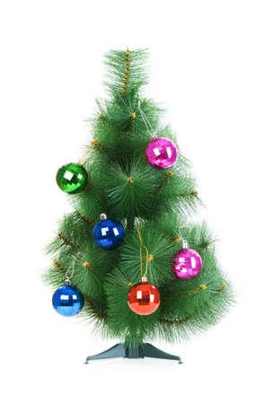 Christmas tree isolated on the white background Stock Photo - 5778574