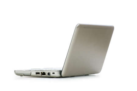 Netbook isolated on the white background Stock Photo - 5778474