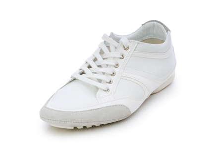 Short shoes isolated on the white background Stock Photo - 5856390