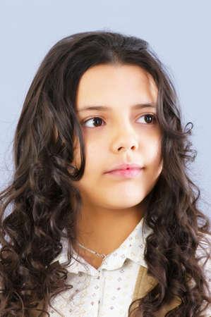 Portrait of beautiful girl  photo