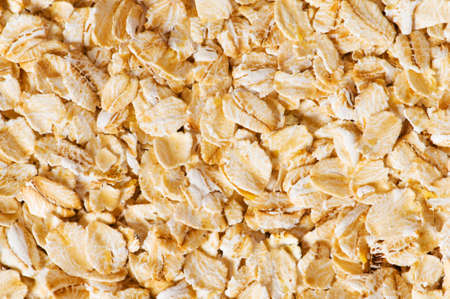 Background with yellow cereal flakes photo