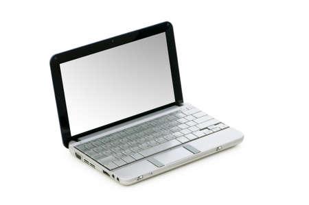 Netbook isolated on the white background Stock Photo - 5977169