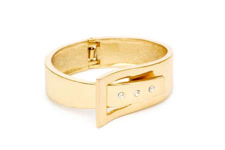 armlet: Bracelet isolated on the white background