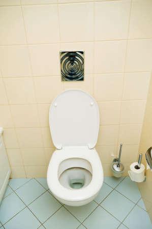 Toilet in the bathroom photo