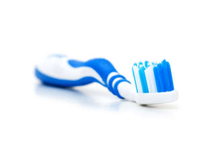hygeine: Tooth brush isolated on the white background