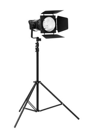 Studio lighting isolated on the white background Stock Photo - 6314220