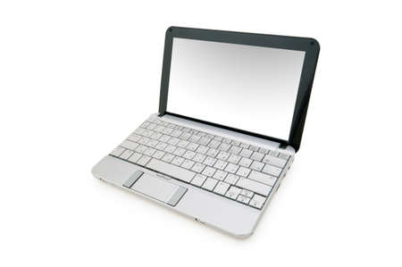 Stylish netbook isolated on the white background Stock Photo - 6313960