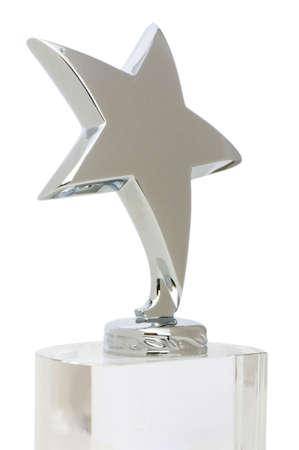 Star award isolated on the white background photo