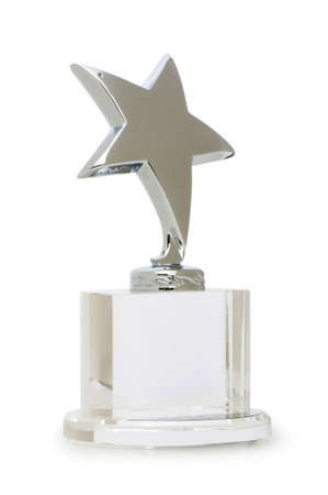 Star award isolated on the white background Stock Photo - 6581712