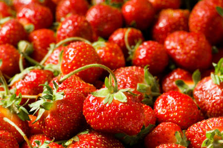 Lots of strawberries arranged as the background Stock Photo - 6725106