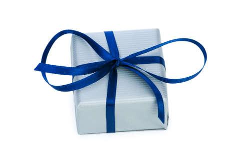 Gift box isolated on the white background Stock Photo - 6836296