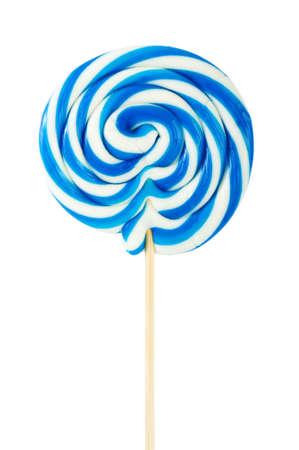 paletas de caramelo: Paleta colorida aislado en el fondo blanco