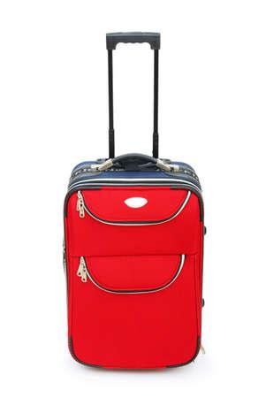 Travel case isolated on the white background photo