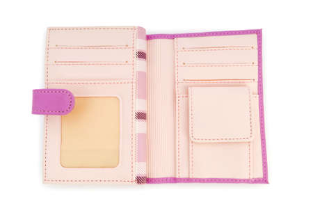Wallet isolated on the white background Stock Photo - 6850790