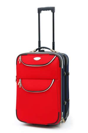 suitcases: Travel case geïsoleerd op de witte achtergrond