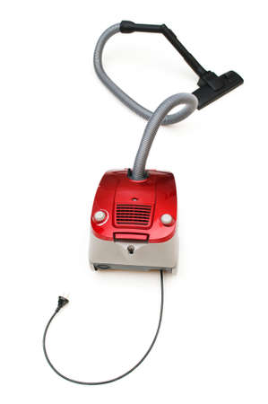 Vacuum cleaner isolated on the white background Stock Photo - 6923815
