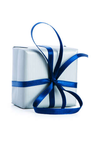 Gift box isolated on the white background Stock Photo - 6923898
