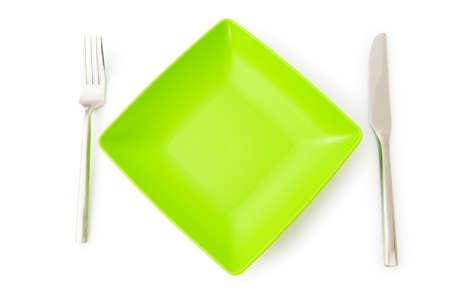 Set of utensils arranged on the table Stock Photo - 6986993