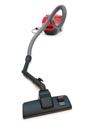 Vacuum cleaner isolated on the white background Stock Photo - 6993248