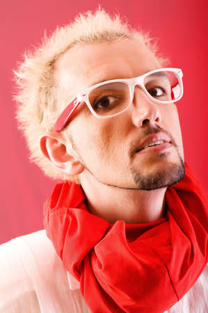 Portrait of a man with glasses Stock Photo - 7004643