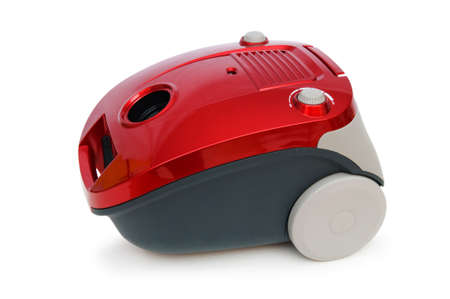 Vacuum cleaner isolated on the white background Stock Photo - 7045724
