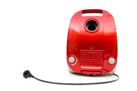 Vacuum cleaner isolated on the white background Stock Photo - 7084459