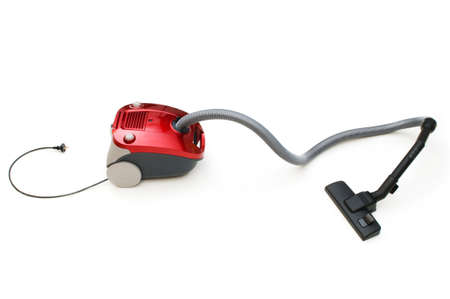 Vacuum cleaner isolated on the white background Stock Photo - 7228785
