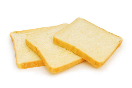 Sliced bread isolated on the white background Stock Photo - 7518104