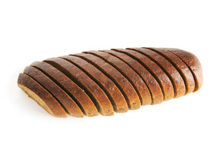 Sliced bread isolated on the white background Stock Photo - 7518427