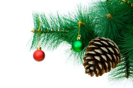 Christmas decoration on the tree Stock Photo - 7546253