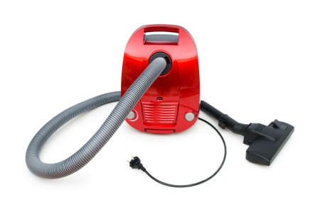 Vacuum cleaner isolated on the white background Stock Photo - 7633625