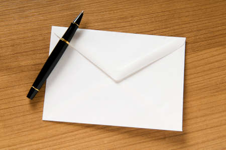 Mail concept with many envelopes on the table Stock Photo - 7867692