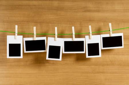 Designer concept - blank photo frames for your photos Stock Photo - 7915314