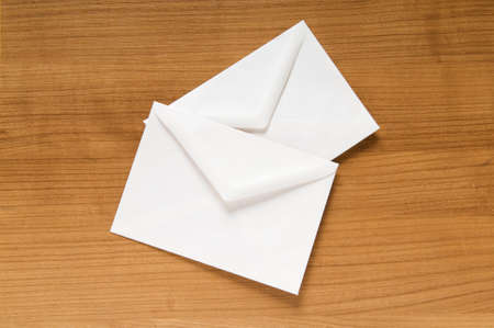 Mail concept with many envelopes on the table Stock Photo - 8029404