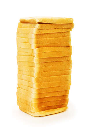 Sliced bread isolated on the white background Stock Photo - 8028505